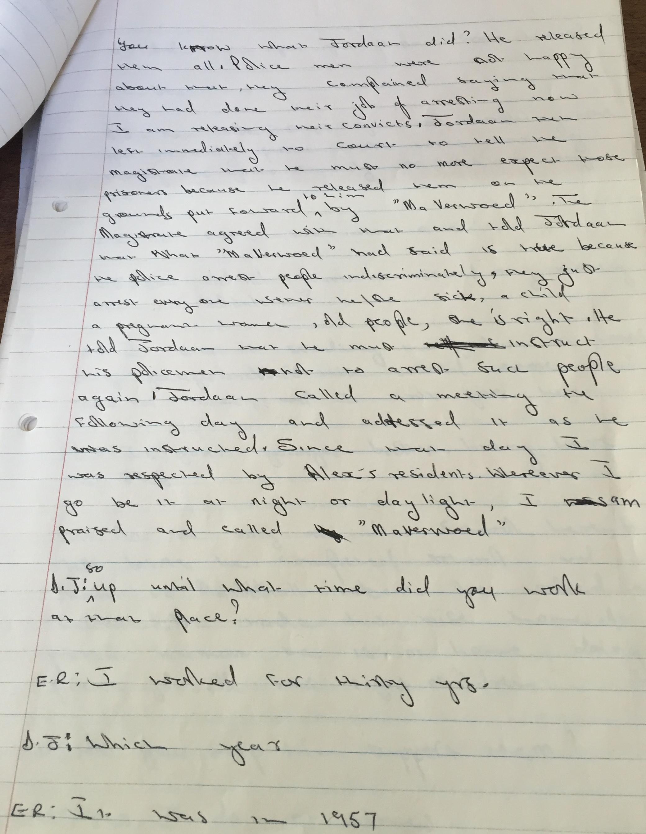 jfk interview essay
